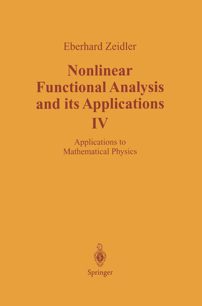 Nonlinear Functional Analysis and its Applications - Coverbild
