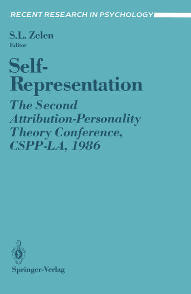 Self-Representation - Coverbild