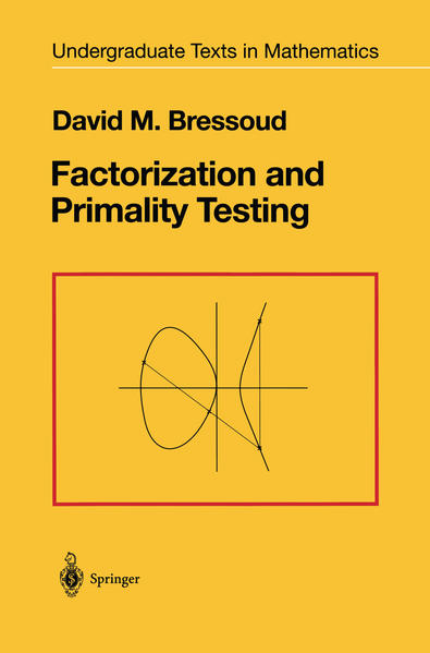 Factorization and Primality Testing - Coverbild