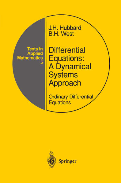 Differential Equations: A Dynamical Systems Approach - Coverbild