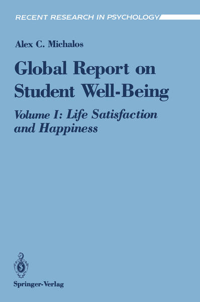 Global Report on Student Well-Being - Coverbild