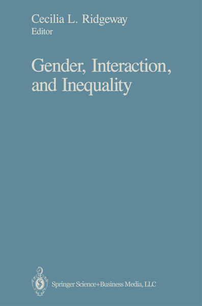 Gender, Interaction, and Inequality - Coverbild