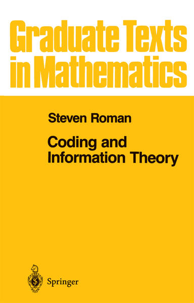 Coding and Information Theory - Coverbild