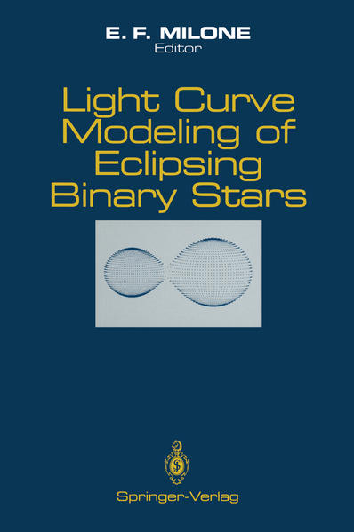 Light Curve Modeling of Eclipsing Binary Stars - Coverbild