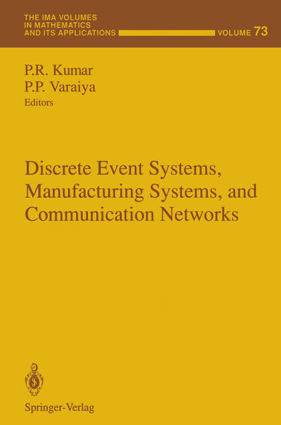 Discrete Event Systems, Manufacturing Systems, and Communication Networks - Coverbild