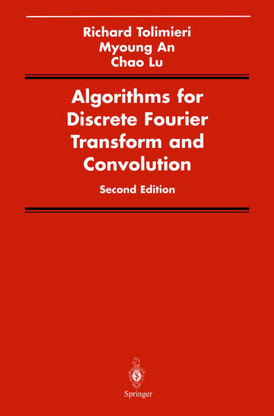 Algorithms for Discrete Fourier Transform and Convolution - Coverbild
