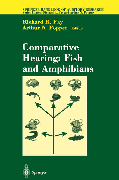 Comparative Hearing: Fish and Amphibians - Coverbild