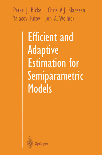 Efficient and Adaptive Estimation for Semiparametric Models - Coverbild