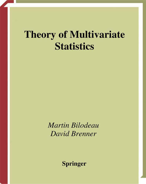 Theory of Multivariate Statistics - Coverbild