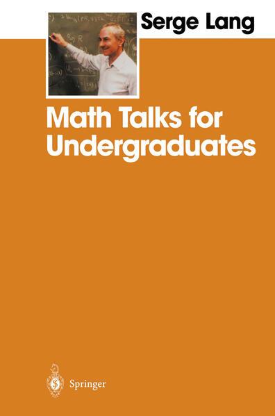 Math Talks for Undergraduates - Coverbild