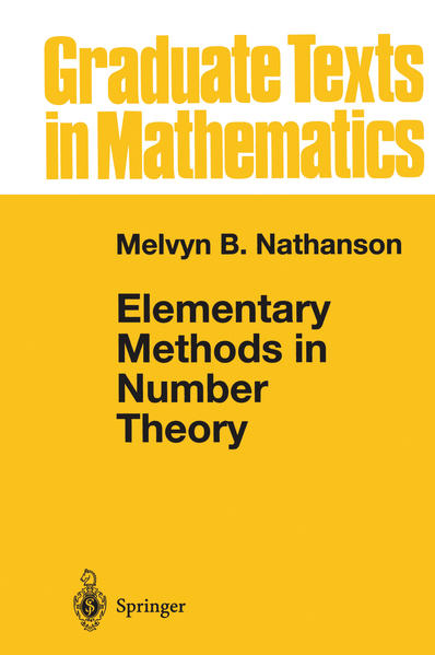 Elementary Methods in Number Theory - Coverbild