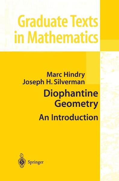 Diophantine Geometry - Coverbild