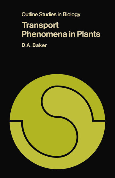 Transport Phenomena in Plants - Coverbild