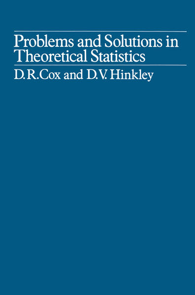 Problems and Solutions in Theoretical Statistics - Coverbild