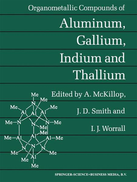 Organometallic Compounds of Aluminum, Gallium, Indium and Thallium - Coverbild
