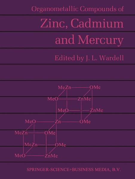 Organometallic Compounds of Zinc, Cadmium and Mercury - Coverbild