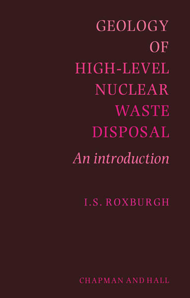 Geology of High-Level Nuclear Waste Disposal - Coverbild