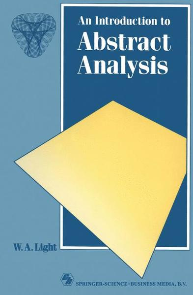 An Introduction to Abstract Analysis - Coverbild