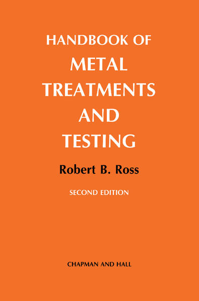 Handbook of Metal Treatments and Testing - Coverbild