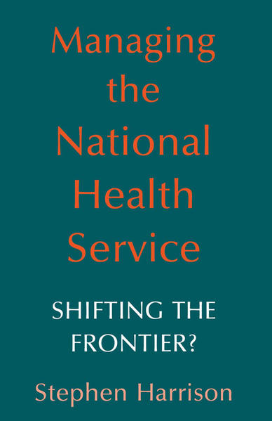 Managing the National Health Service - Coverbild