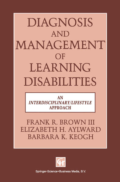 Diagnosis and Management of Learning Disabilities - Coverbild