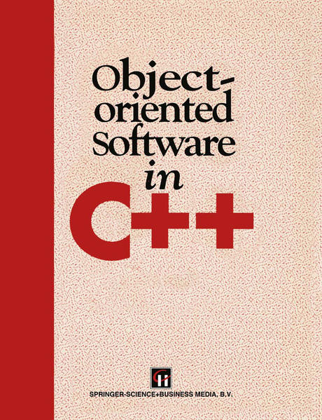 Object-Oriented Software in C++ - Coverbild