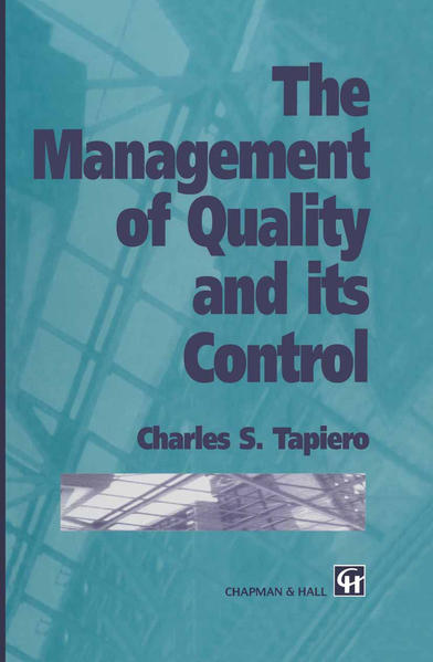 The Management of Quality and its Control - Coverbild