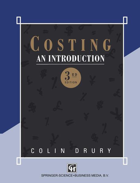 Costing - Coverbild