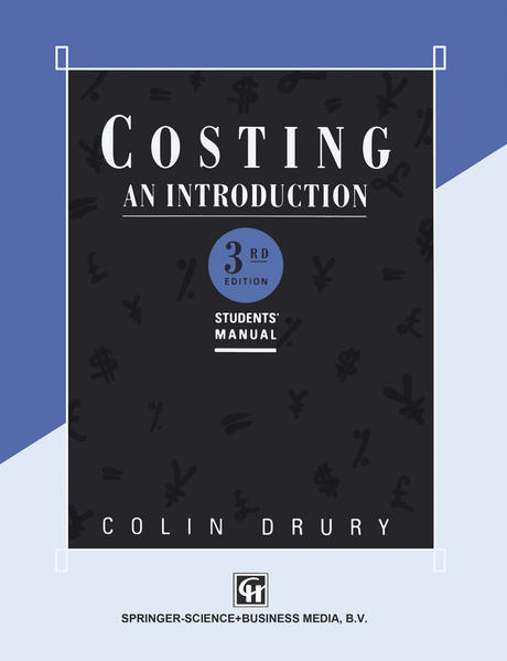 Costing An introduction - Coverbild