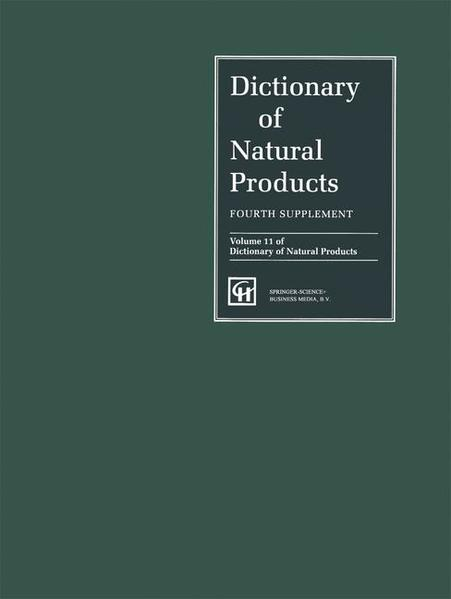 Dictionary of Natural Products - Coverbild