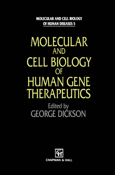 Molecular and Cell Biology of Human Gene Therapeutics - Coverbild