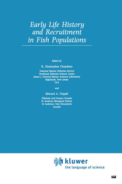 Early Life History and Recruitment in Fish Populations - Coverbild