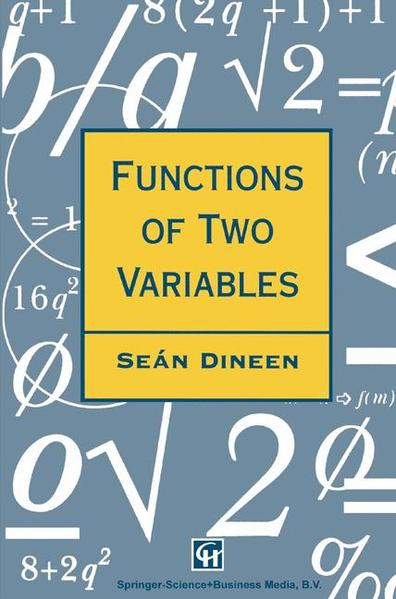 Functions of Two Variables - Coverbild