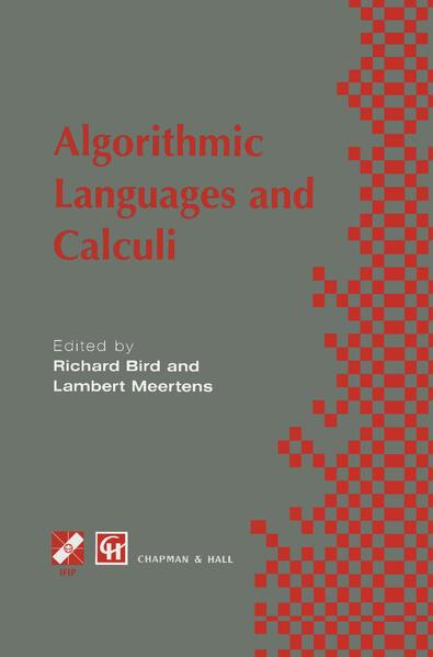 Algorithimic Languages and Calculi - Coverbild