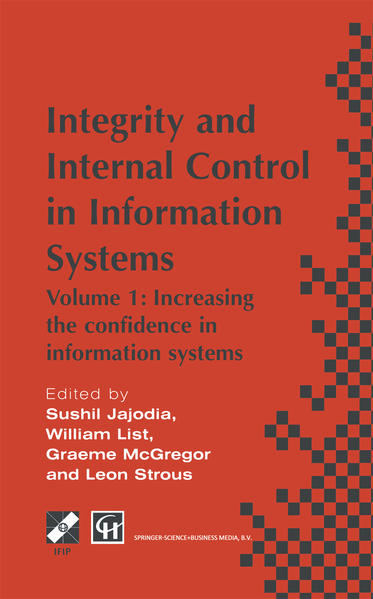 Integrity and Internal Control in Information Systems - Coverbild