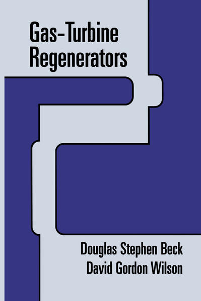 Gas-Turbine Regenerators - Coverbild