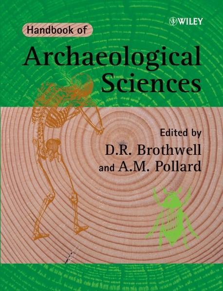 Handbook of Archaeological Sciences - Coverbild