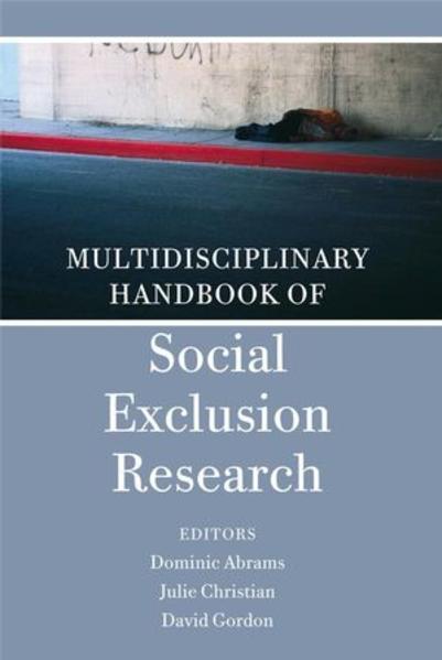 Multidisciplinary Handbook of Social Exclusion Research - Coverbild