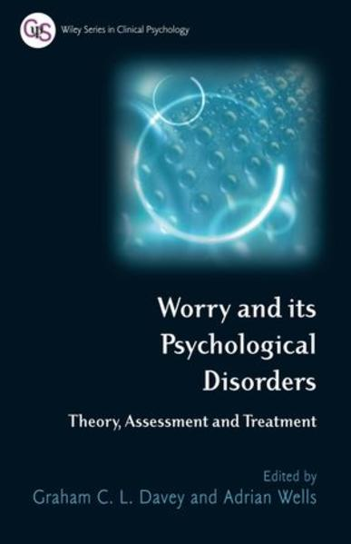 Worry and its Psychological Disorders - Coverbild