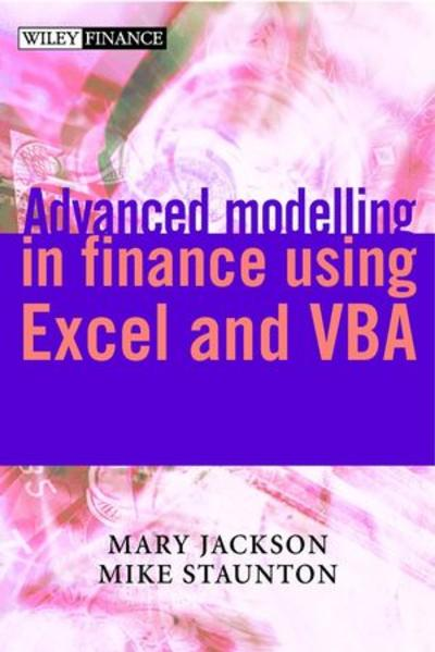 Advanced Modelling in Finance using Excel and VBA - Coverbild