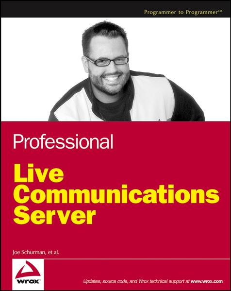 Professional Live Communications Server - Coverbild