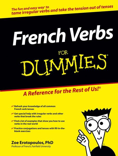 French Verbs For Dummies - Coverbild