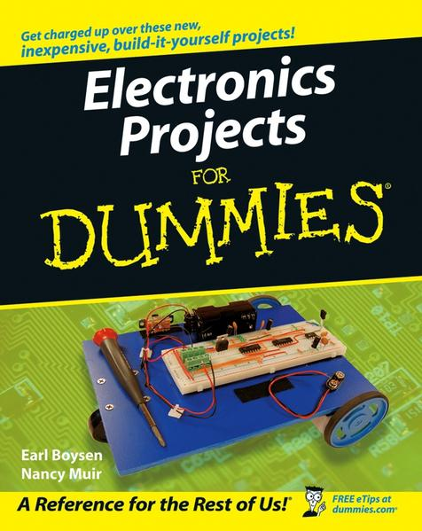 Electronics Projects For Dummies - Coverbild