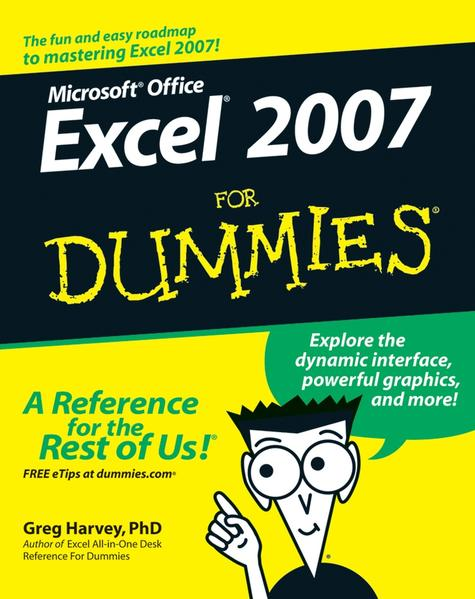 Excel 2007 For Dummies - Coverbild