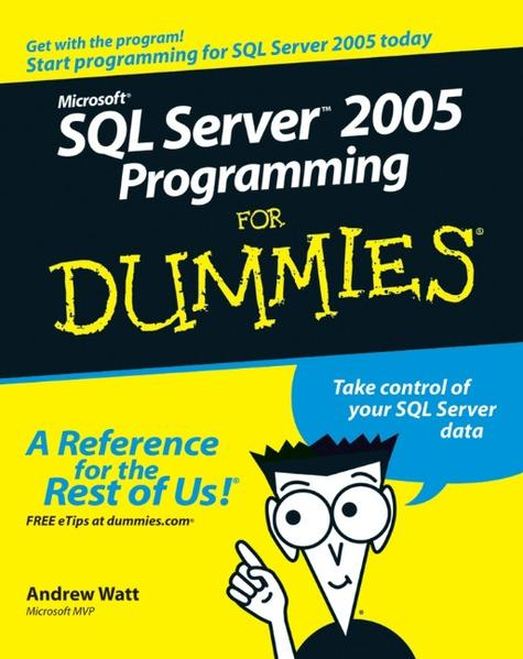 Microsoft SQL Server 2005 Programming For Dummies - Coverbild