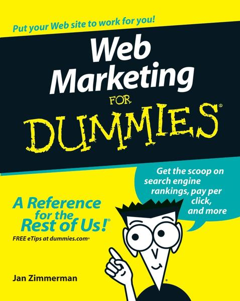 Web Marketing For Dummies - Coverbild