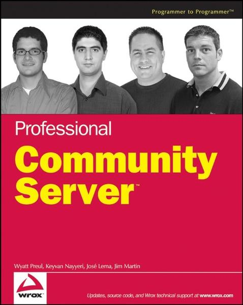 Professional Community Server - Coverbild