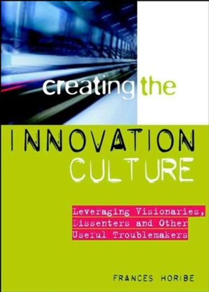 Creating the Innovation Culture - Coverbild