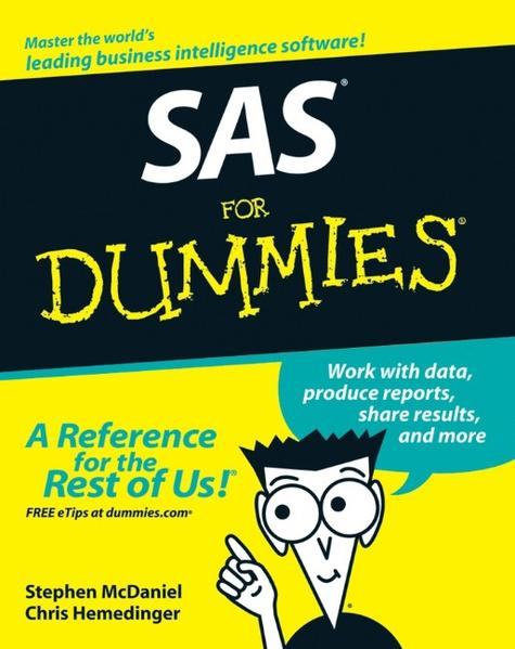 SAS For Dummies - Coverbild
