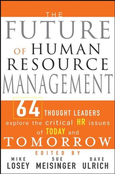 The Future of Human Resource Management - Coverbild